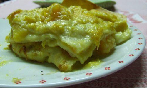 Lasagne alla zucca! (con gorgonzola)