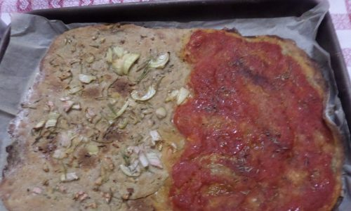 Pizza integrale (istantanea!)