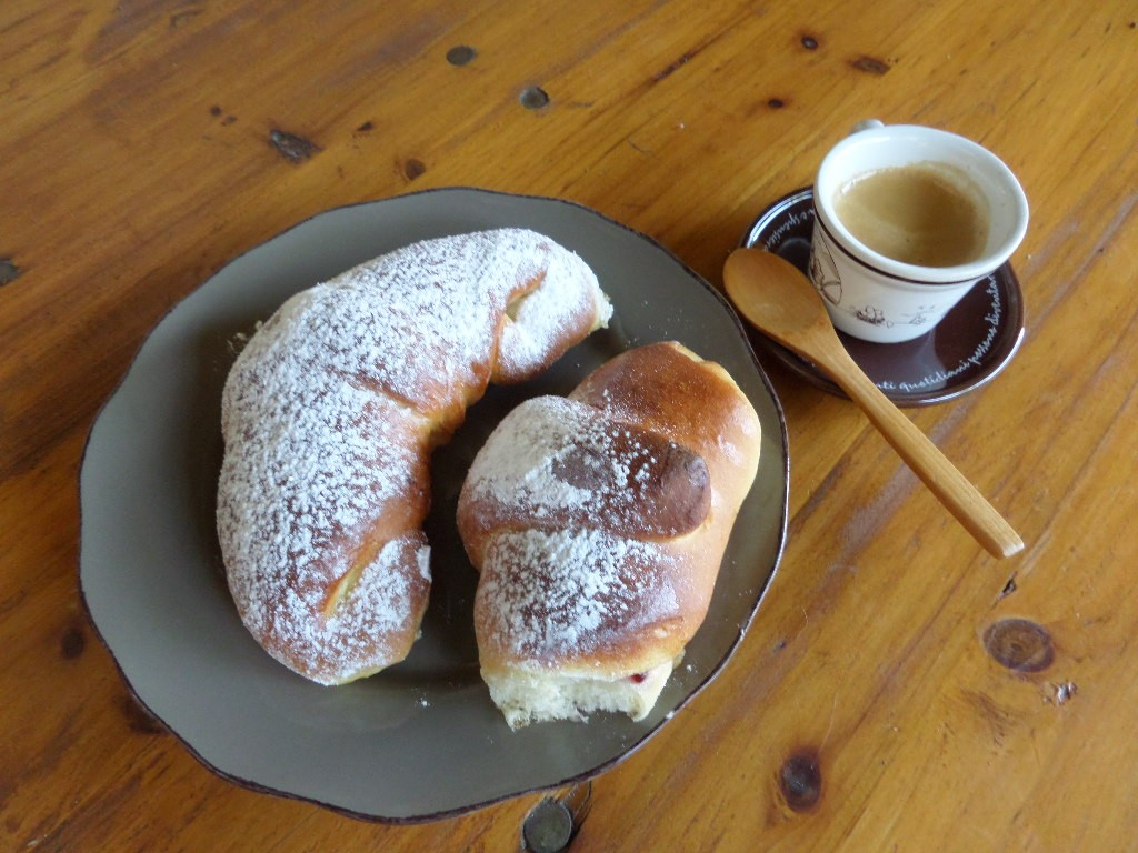 brioche per la colazione fatte in casa