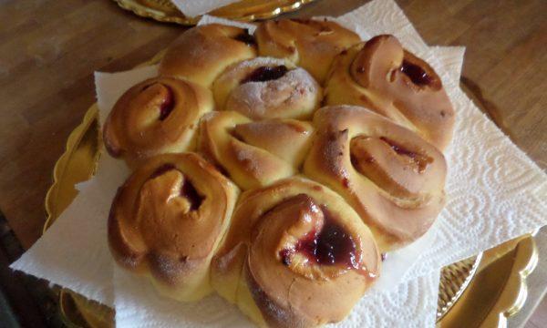 Torta di rose con Marmellata di fichi
