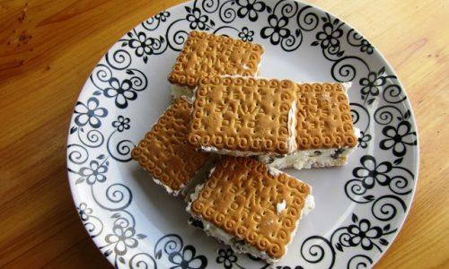 Gelato biscotto homemade – la merenda ideale