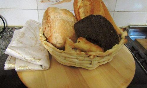 Centrotavola di pane – Idea per le feste