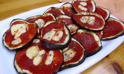 Pizzette di melanzane – colore e sapore a tavola