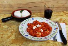 Gnocchi al pomodoro, basilico e mozzarella – per imparare a cucinare…