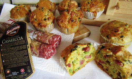 Muffin salati salsiccia e piselli – il perfetto snack estivo!