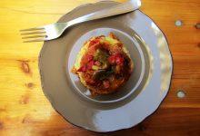 Lasagne bianche ai peperoni di Carmagnola–  Quel libro di tanti anni fa