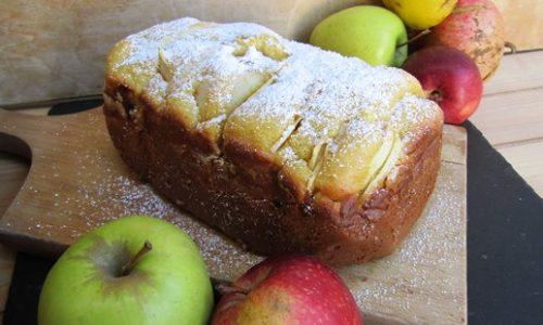 Torta di mele con la macchina del pane – Velocissima e fantastica!