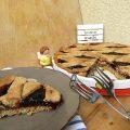 Crostata con farina integrale marmellata di ciliegie