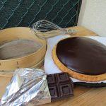 Torta con stampo furbo con crema al cioccolato - che bella idea in cucina!