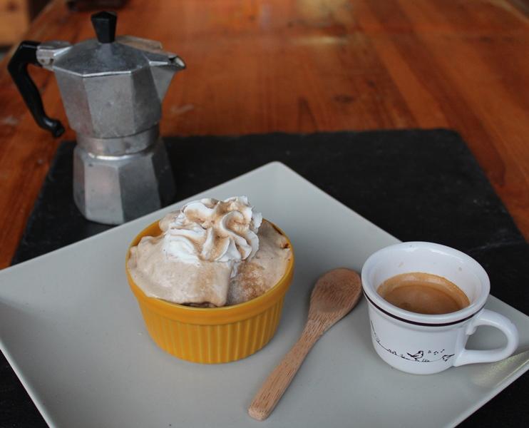 gelato al caffè fatto in casa