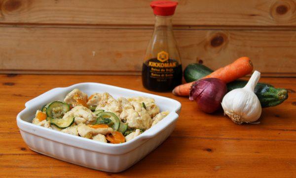 Pollo all'orientale – sapore e colore a tavola!