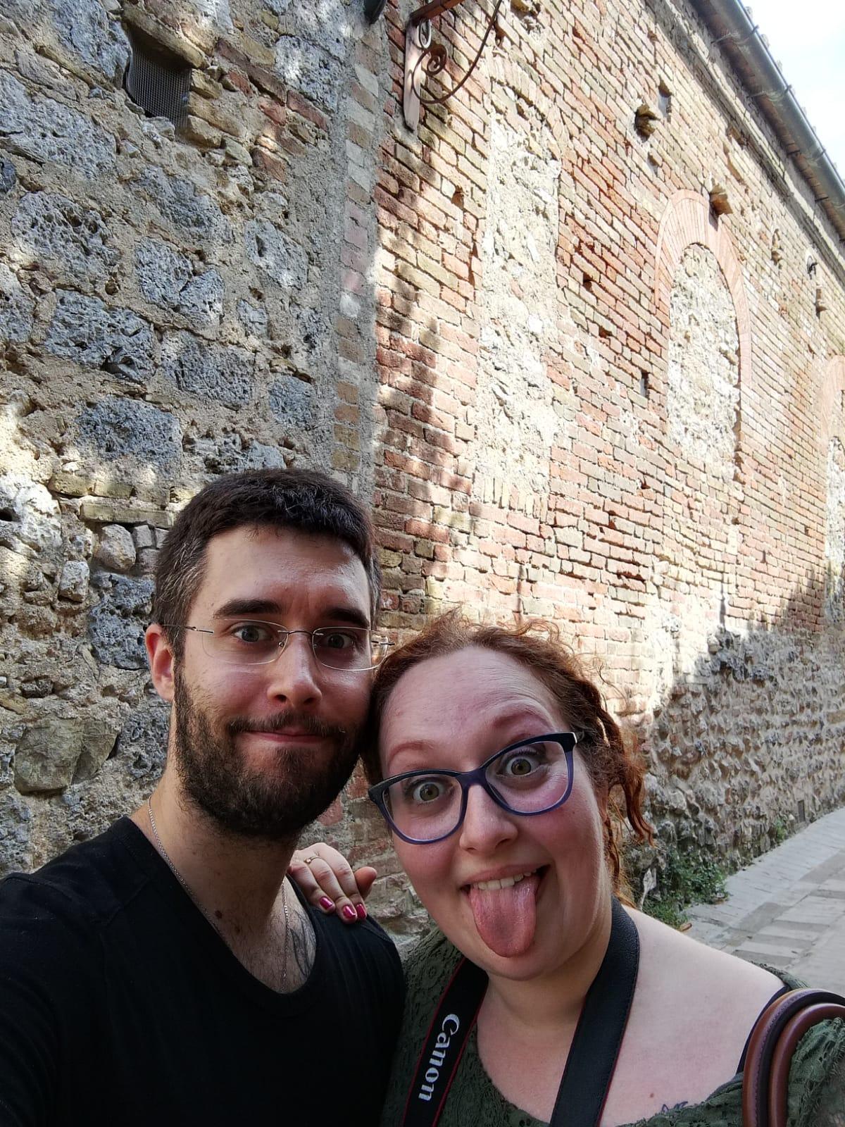 Due pazzi a San Gimignano