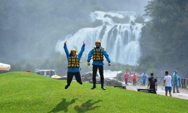 Rafting nelle Marmore – natura ed adrenalina.