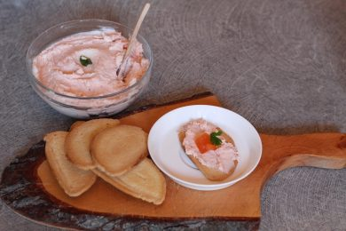 Patè di salmone fatto in casa