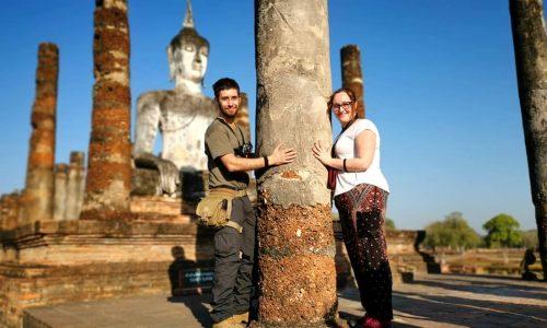 In bicicletta a Sukhothai – Patrimonio dell'Unesco