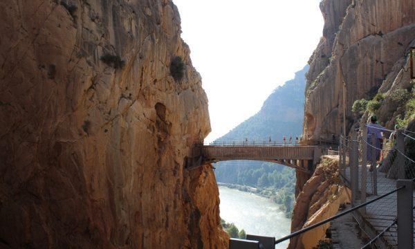 Caminito del Rey – percorso a 300 metri di altezza!