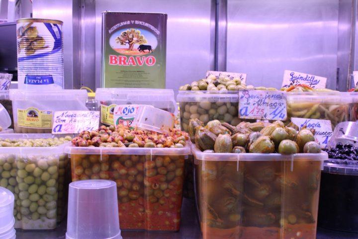 Aceitunas, olive - Mercato di Atarazanas, Malaga