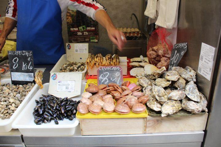Crudité di mare, Malaga - - Mercato di Atarazanas, Malaga