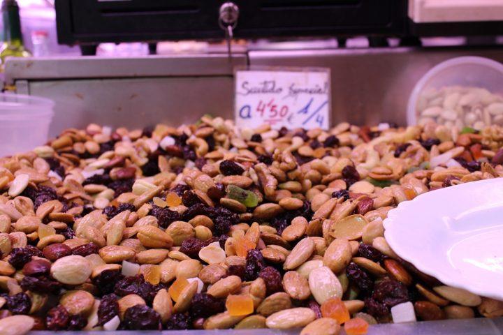 Frutta secca - Mercato di Atarazanas, Malaga