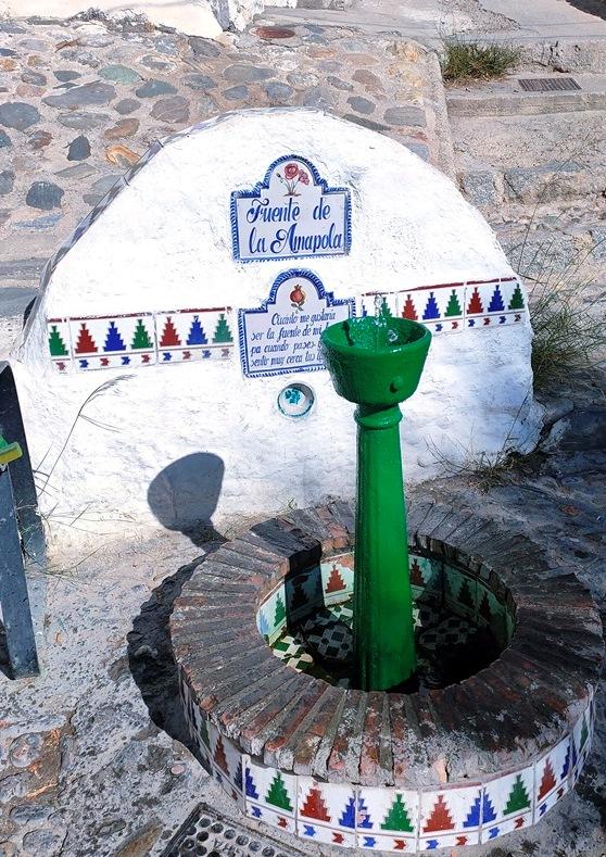 Fuente de la Amapola, Sacromonte.