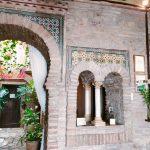 Dettaglio degli interni dei bagni arabi di Cordoba, la sala d'attesa