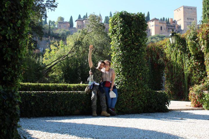 Residenza Universitaria Carmen de la Victoria, Granada - Vista sull'Alhambra