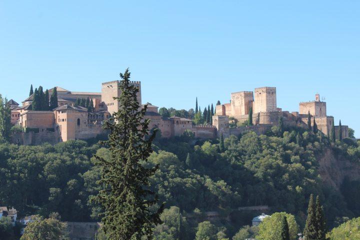 L'Alhambra vista dal Sacromonte