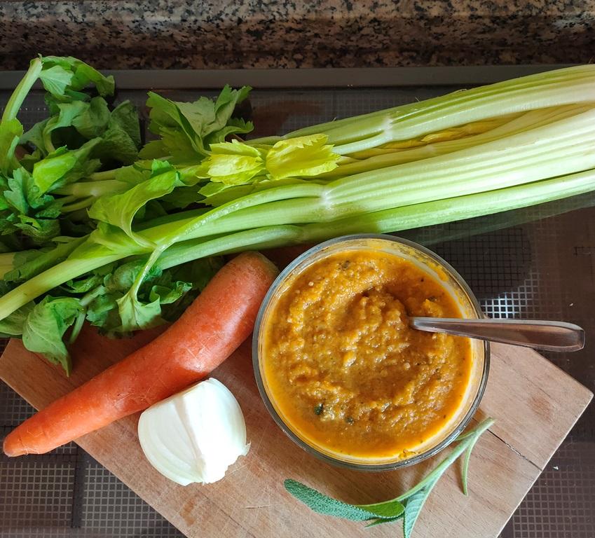 dado di verdure fatto in casa
