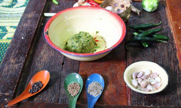 Pasta di curry verde – ricetta thailandese