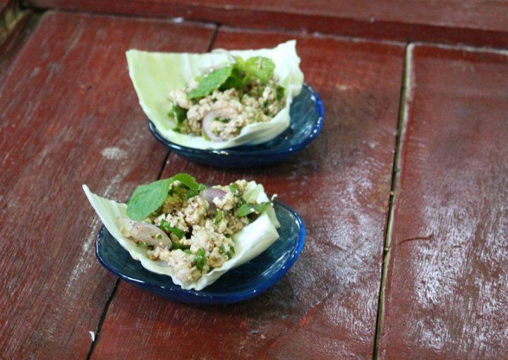 Larb Gai - Insalata di Pollo del nord della Thailandia