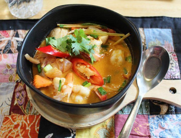 Tom yum goong - la zuppa di gamberi thailandese