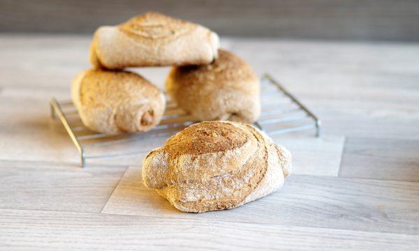 Mantovane integrali – che bello fare il pane a casa!