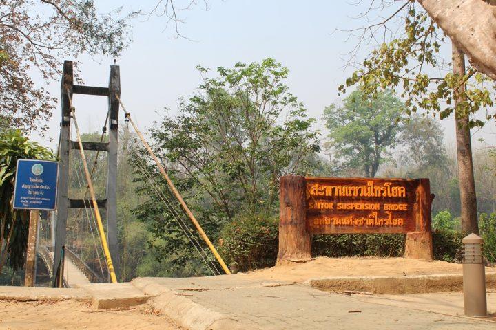 Ponte sospeso all'interno del Parco naturale Say Yok