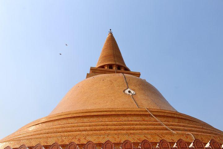 Nakhon Pathom e la sua pagoda