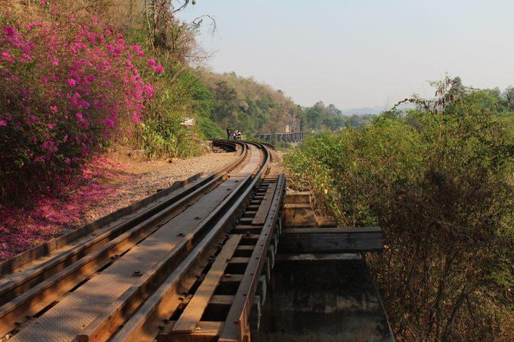 Parte del tragitto della Ferrovia